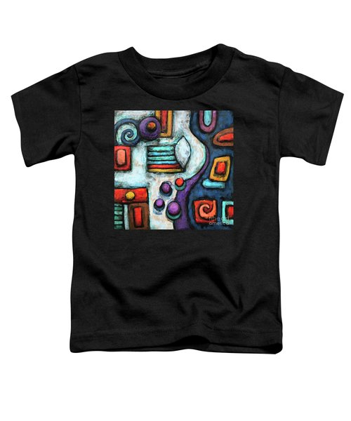 Geometric Abstract 5 Toddler T-Shirt