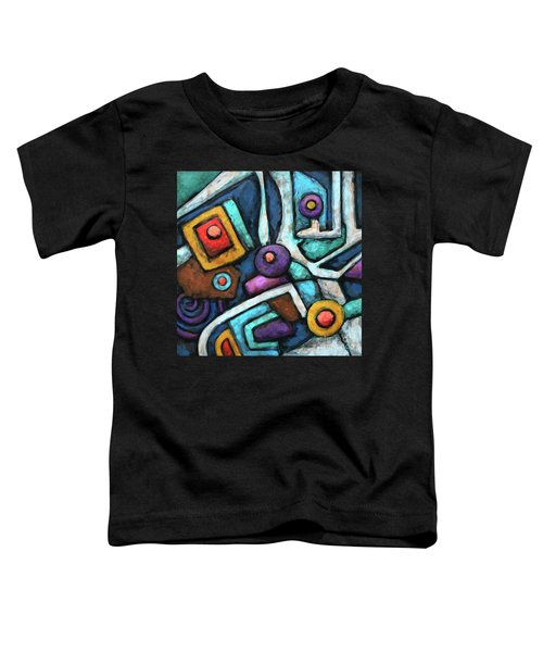 Geometric Abstract 6 Toddler T-Shirt