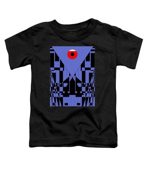 Geometric Red Dot  Toddler T-Shirt