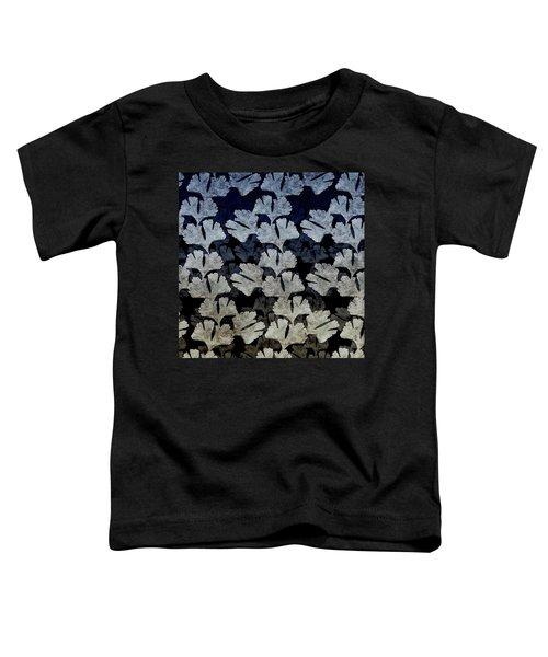 Ginko Leaf Pattern Toddler T-Shirt