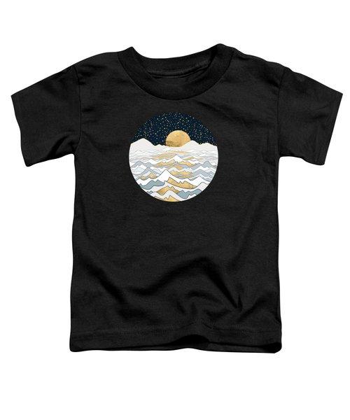 Golden Ocean Toddler T-Shirt