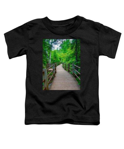 Gooseberry River Trail Toddler T-Shirt