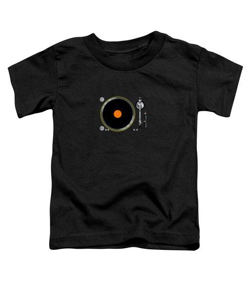 Gramophone Music Player Toddler T-Shirt