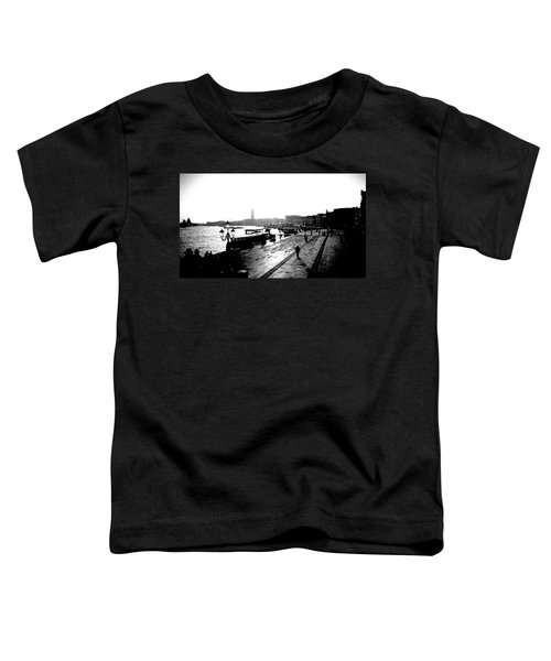 Grand Canal At Sunset Toddler T-Shirt