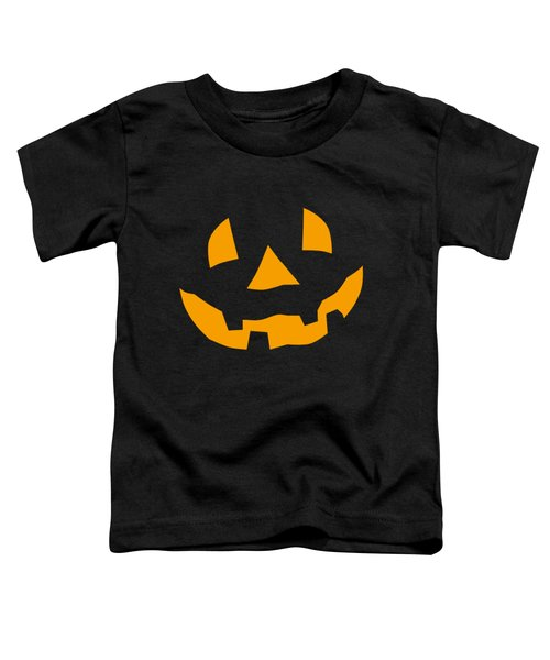 Halloween Pumpkin Tee Shirt Toddler T-Shirt