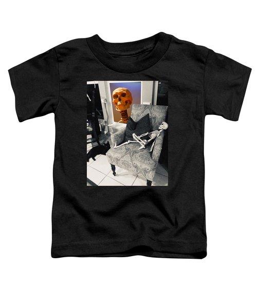 Halloween Window Dressing Toddler T-Shirt