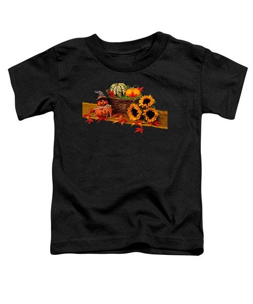 Happy Fall Toddler T-Shirt