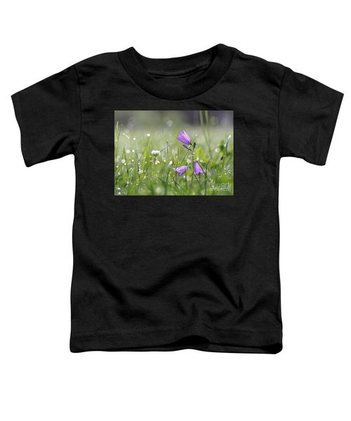 Harebells And Water Drops Toddler T-Shirt