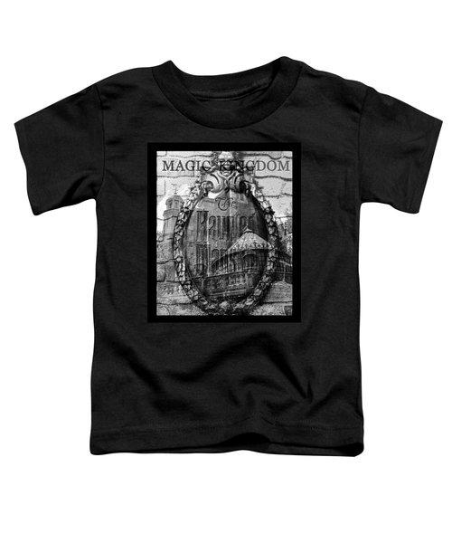 Haunted Mansion Mash Up Art Toddler T-Shirt
