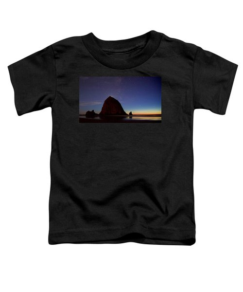 Haystack Night Sky Toddler T-Shirt