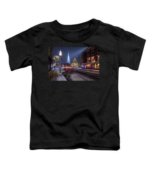 Holiday Magic, Market Square Toddler T-Shirt