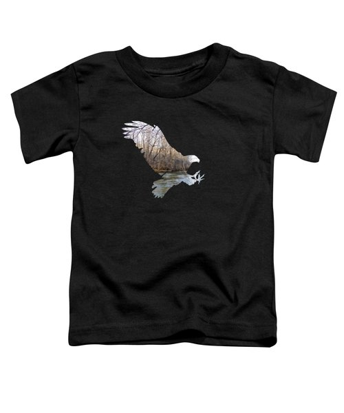 Hunting Eagle Toddler T-Shirt