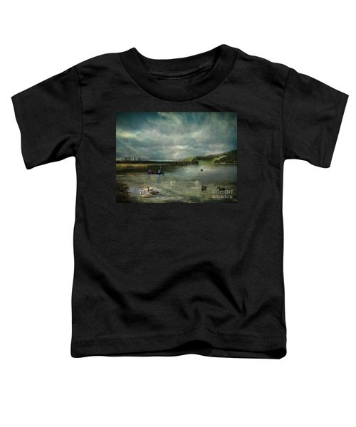 Idyllic Swans Lake Toddler T-Shirt