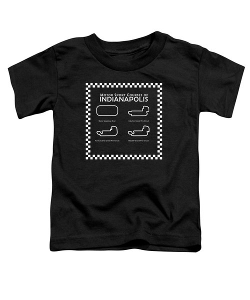 Indianapolis Courses Toddler T-Shirt