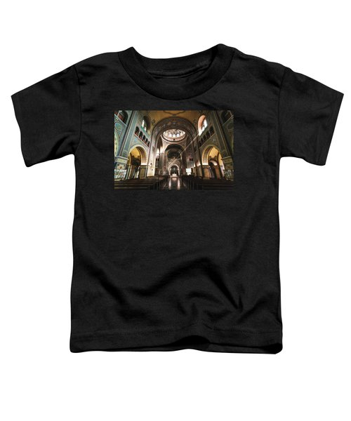 Interior Of The Votive Cathedral, Szeged, Hungary Toddler T-Shirt