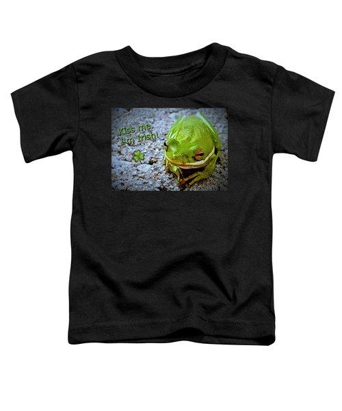 Irish Frog Toddler T-Shirt