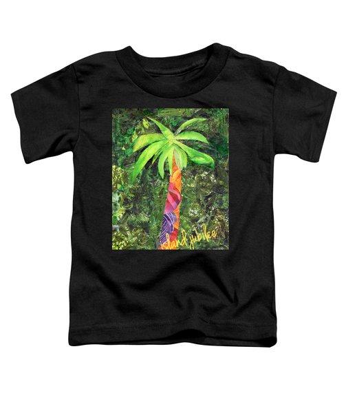 Island Jubilee Mixed Media Art Toddler T-Shirt