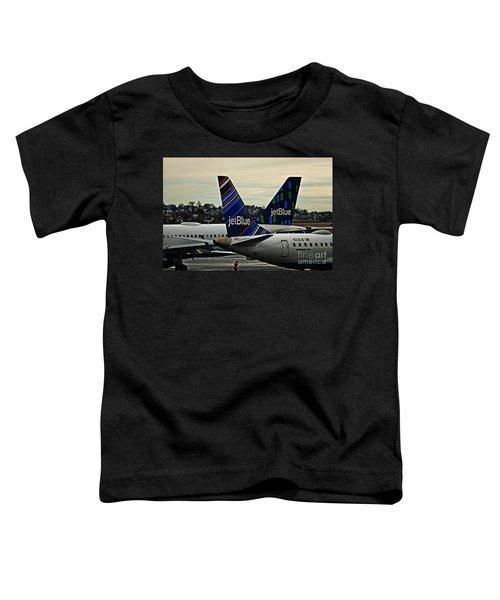 Jetblue Crossing   Toddler T-Shirt