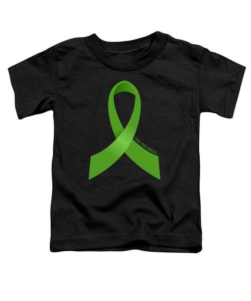 Kidney Cancer Awareness Toddler T-Shirt