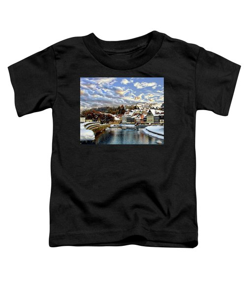 Kronach Winter Scene Toddler T-Shirt