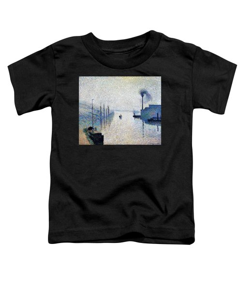 Lacroix Island, Rouen  - Digital Remastered Edition Toddler T-Shirt