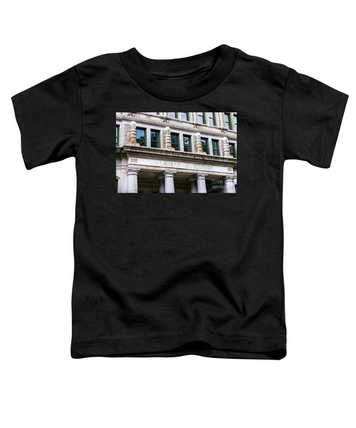 Lamar Building - Augusta Ga Toddler T-Shirt
