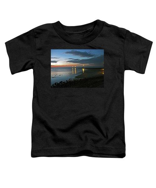 Lancashire. Knott End. Sunset.. Toddler T-Shirt
