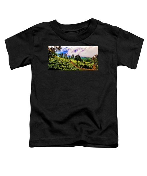Green Landscape Toddler T-Shirt
