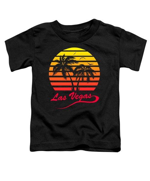 Las Vegas Sunset Toddler T-Shirt