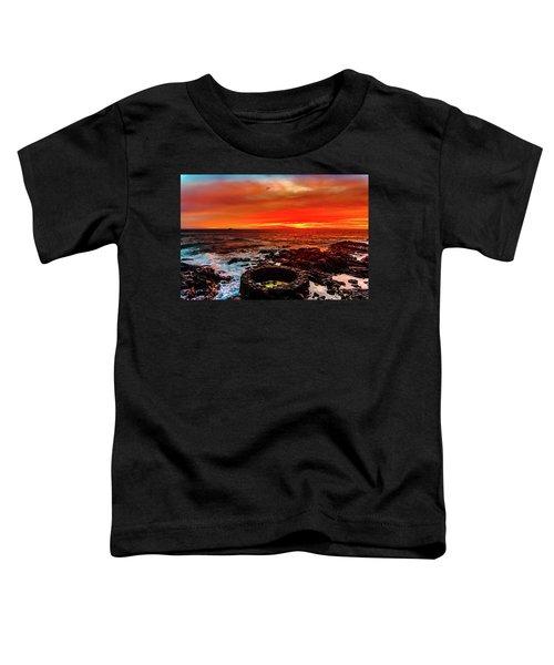 Lava Bath After Sunset Toddler T-Shirt