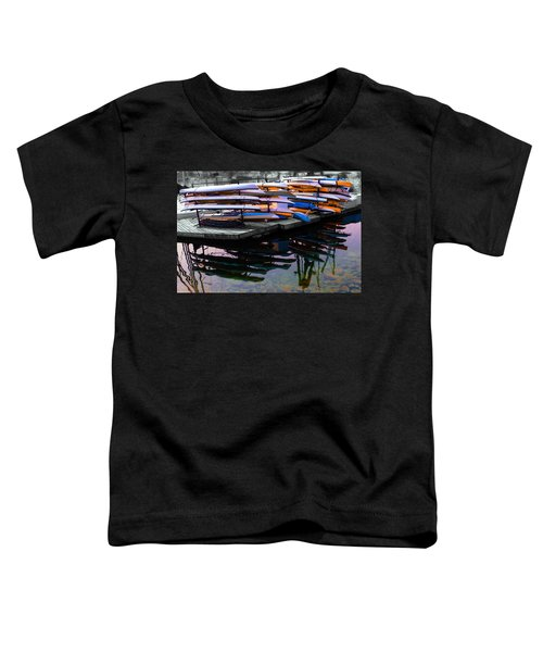Layers And Layers By The Water Toddler T-Shirt