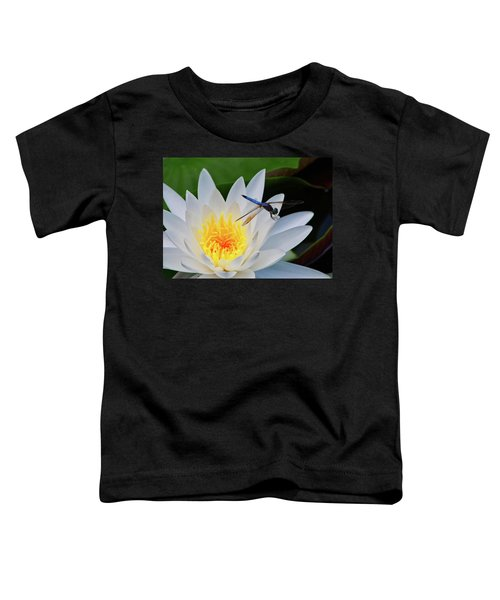 Lily And Dragonfly Toddler T-Shirt