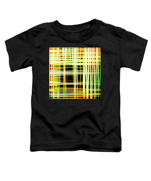 Lines And Squares In Color Waves - Plb418 Toddler T-Shirt