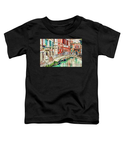 Lost In Venice Toddler T-Shirt
