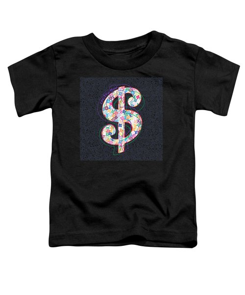 Louis Vuitton Dollar Sign-2 Toddler T-Shirt
