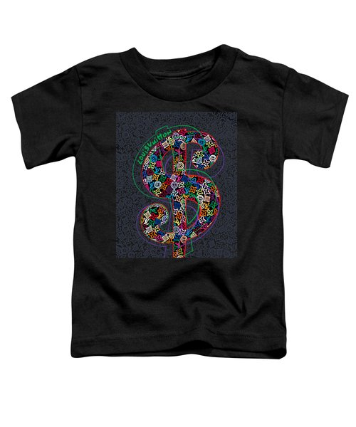 Louis Vuitton Dollar Sign-4 Toddler T-Shirt