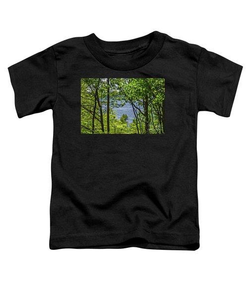 Manistee Lake Through The Trees Toddler T-Shirt