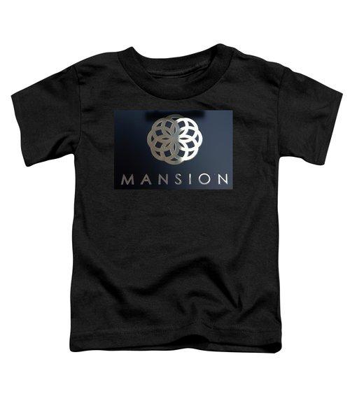Colours. Mansion Black Toddler T-Shirt