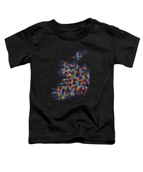 Map Of Ireland-2 Toddler T-Shirt
