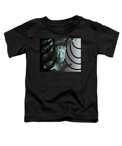 Mask The Maori Warrior Toddler T-Shirt