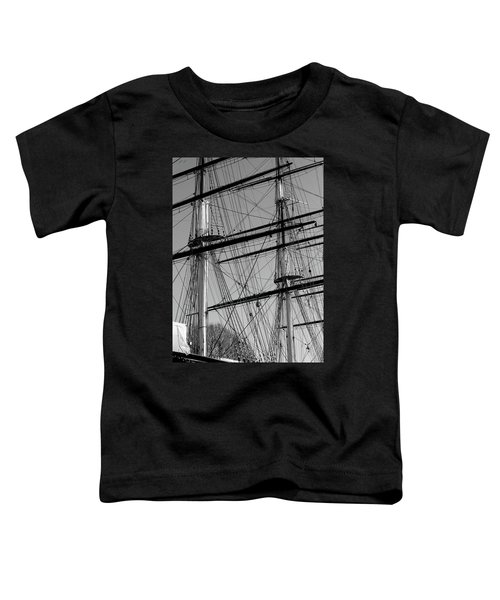 Masts And Rigging Of The Cutty Sark Toddler T-Shirt