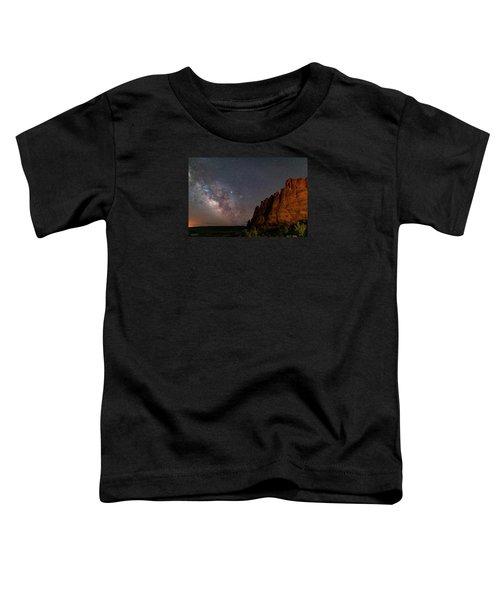 Milky Way At Navajo Rocks 2 Toddler T-Shirt