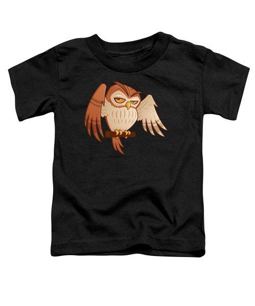 Mister Owley Toddler T-Shirt