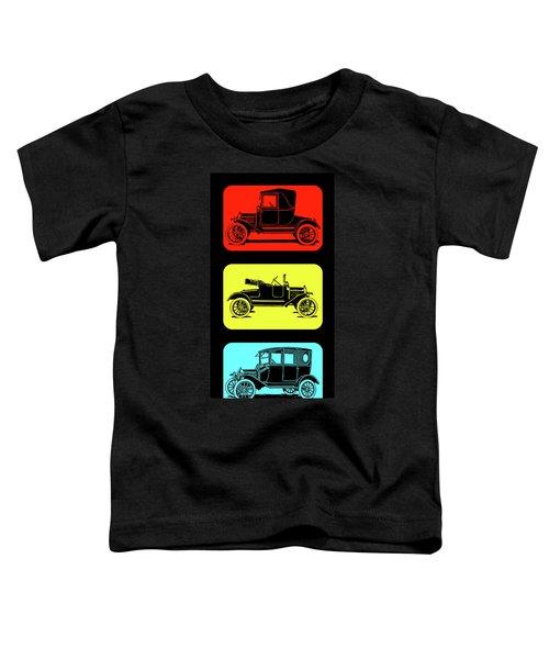 Model T Ford Triple Toddler T-Shirt