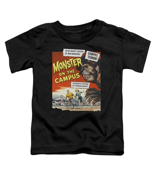 Monster On The Campus Vintage Movie Poster Toddler T-Shirt