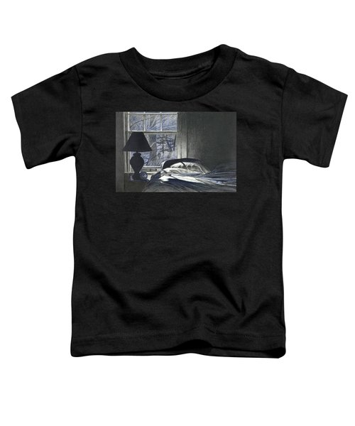 Moon Light On Our Bed Toddler T-Shirt