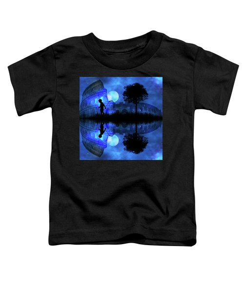 Moonlight Colosseum Toddler T-Shirt