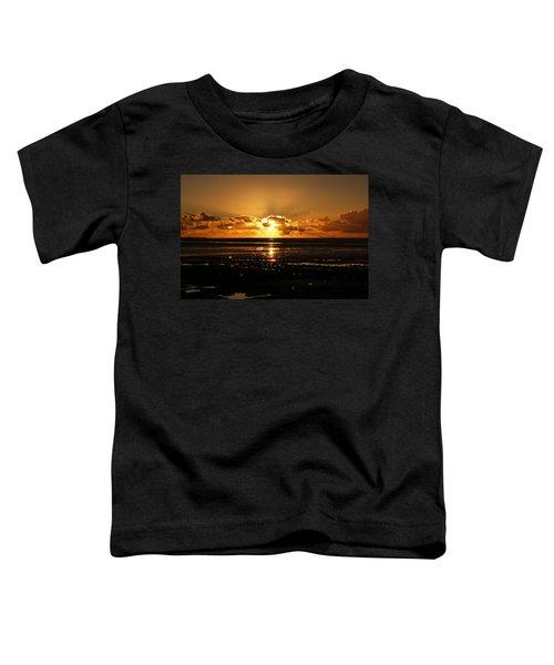 Morecambe Bay Sunset. Toddler T-Shirt