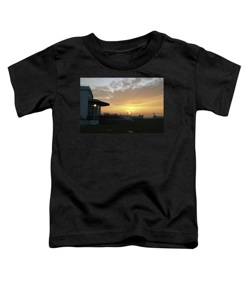 Morecambe. Evening On The Bay Toddler T-Shirt