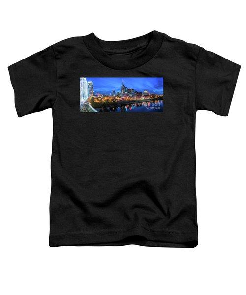 Nashville Night Toddler T-Shirt